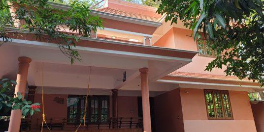 8 year old 4 bhk two floor house for sale near Koliyakode, Thiruvananthapuram