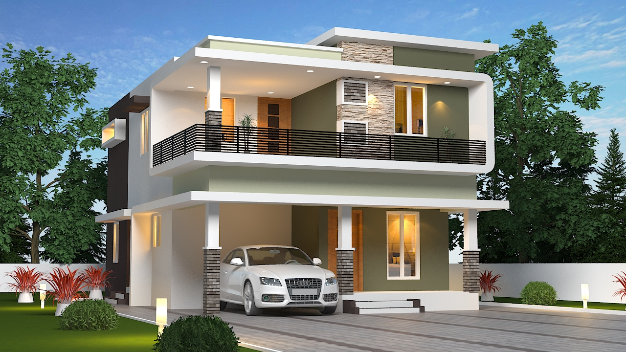 Premium Villas with 4 Cent For Sale @ Ottapalam
