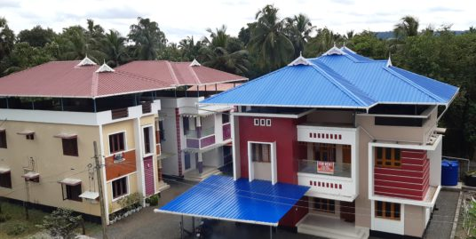 For rent Furnished 1/2/3 Bhk Villas at Trichur Govt Medical College( MG Kavu)