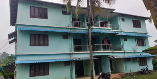 Well Maintained 8 family apartment in 2 buildings for sale at Chelari town, opp of IOC plant. Malappuram