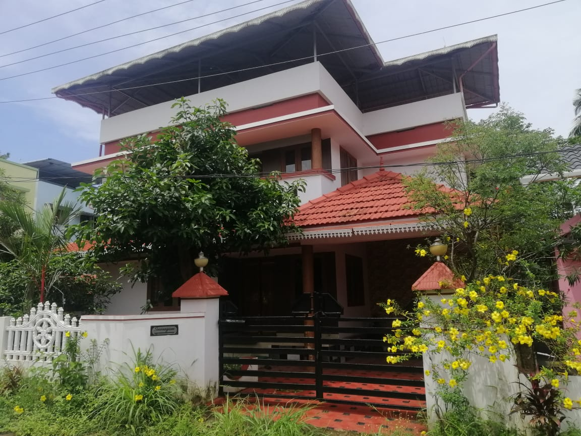 1800 Sq.Ft Independent House/Villa for sale at Athani, Thrissur