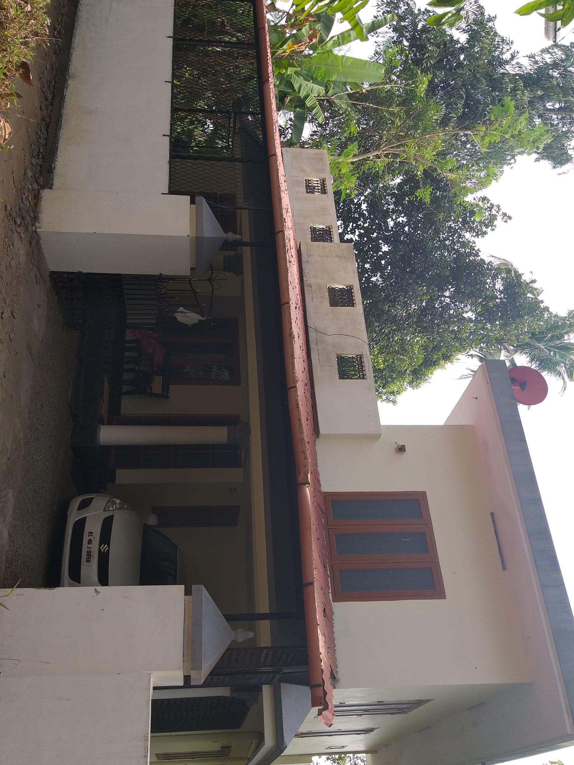 4 bhk house ready to move for 4200000 lacks only in Angamaly