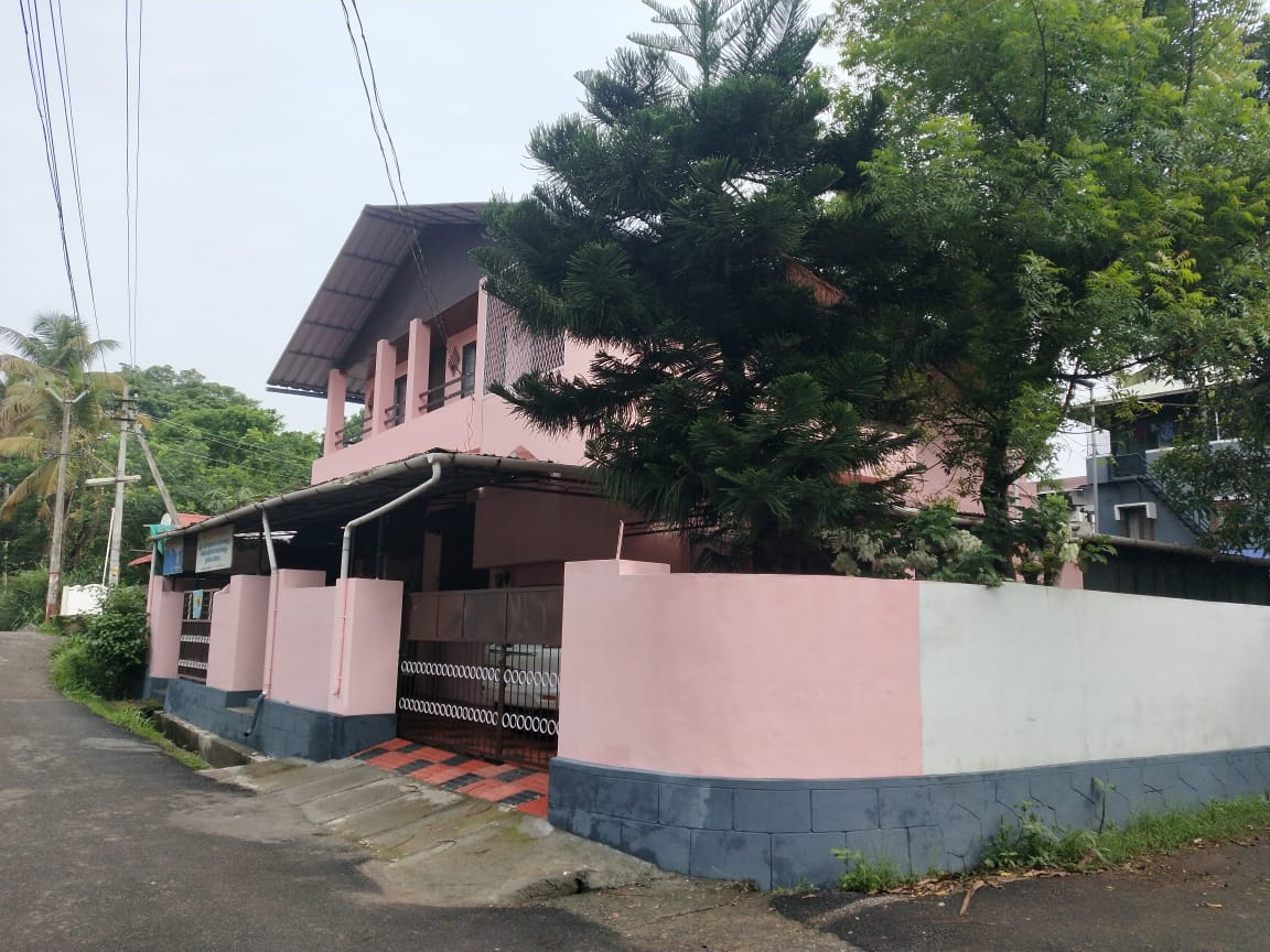 7 Cent Plot With Residential Building And Two Shop Rooms For Sale At Pallimoola, Thrissur