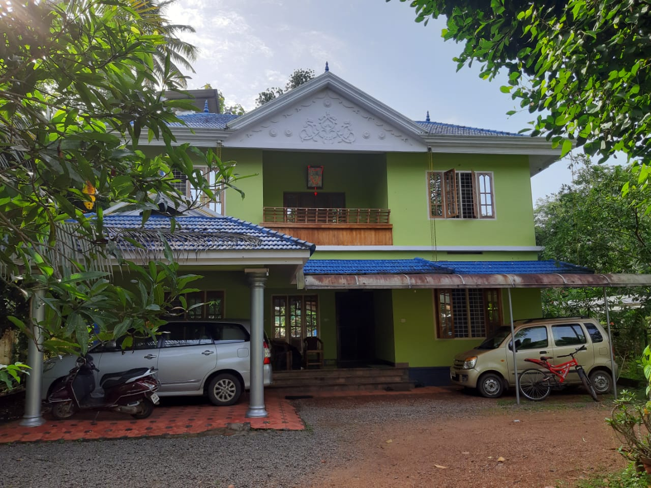Residential House and land for sale at Nalukody, near Changanassery