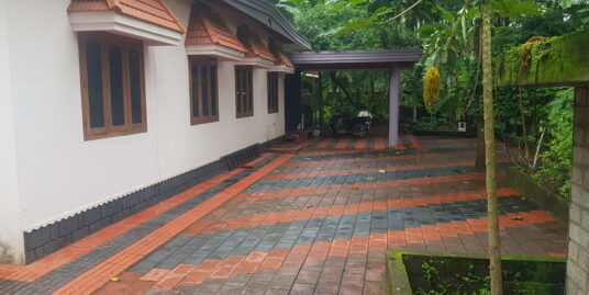16.50cents land with residential villa for sale at Thamarassery