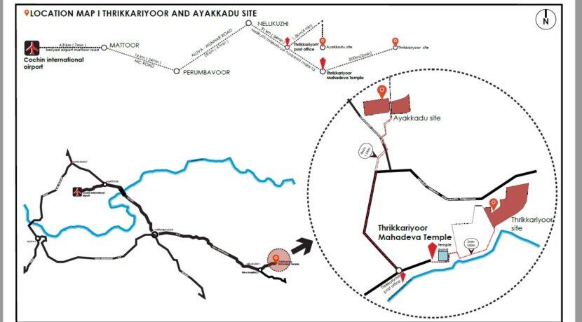 Thrikkariyoor and Ayakkadu Site