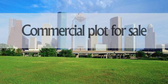 Commercial Plot for sale