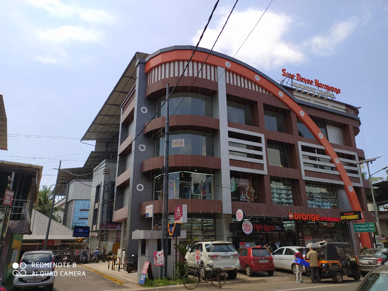 Brand New Commercial Spaces Available on Rent for Shops and Offices in SBI, AXIS Bank and Orange Supermarket Building.
