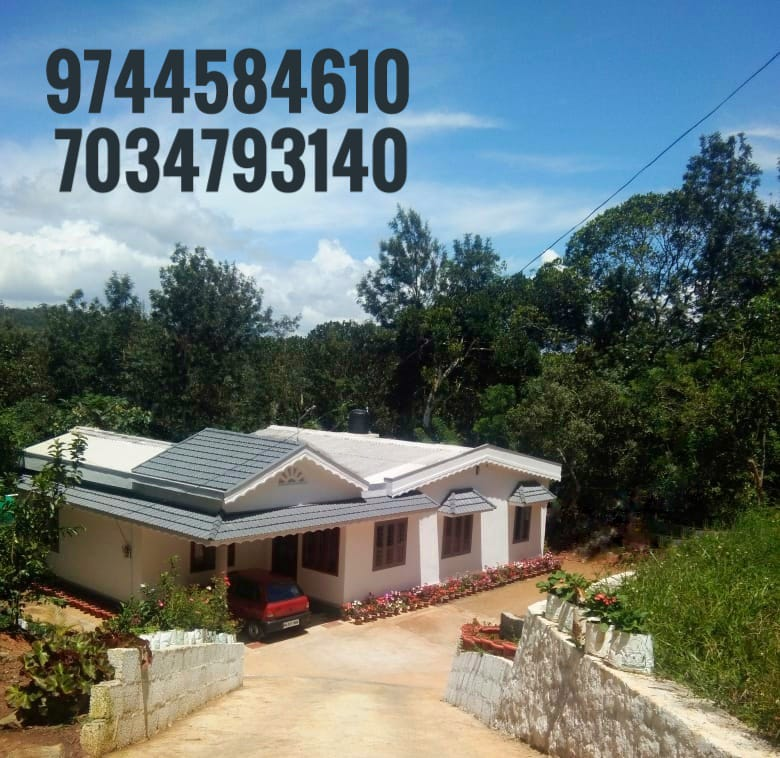 2 Acres Of Cardamom Cultivation With A Beautiful 6 BHK House For Sale In Kattappana,  Idukki
