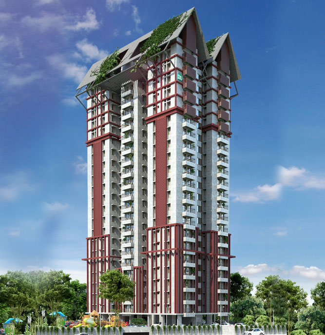 DD Sapphire Gardens 2 & 3 BHK Apartments By Desai Homes, Kuriachira , Thrissur