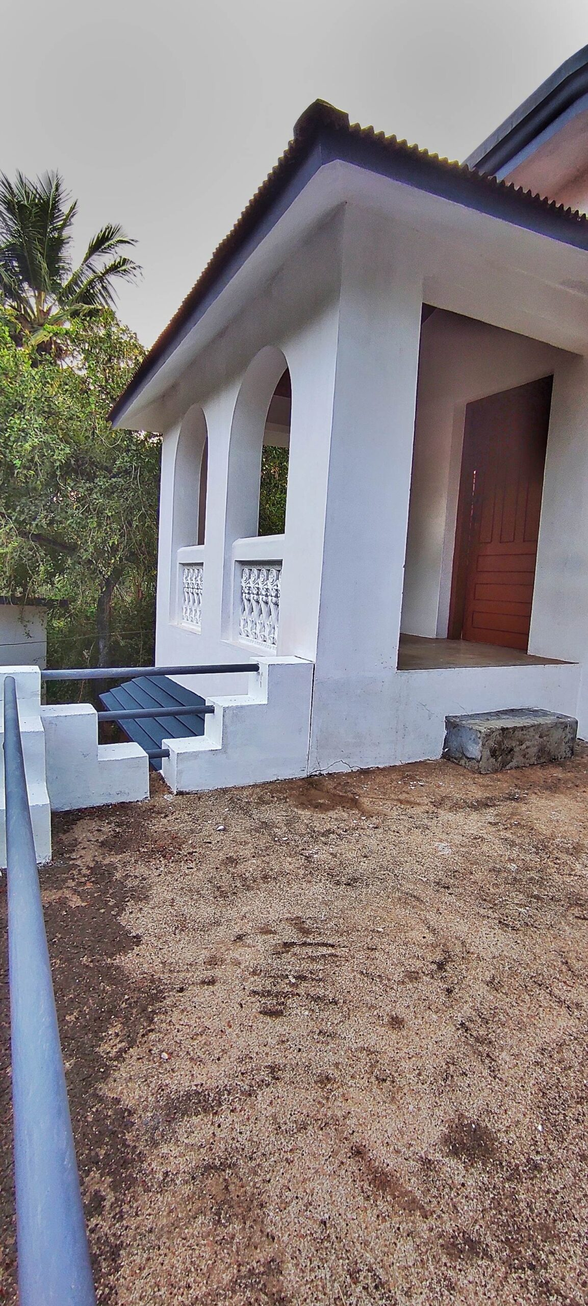 Two Storeyed House For Sale In 30 Cents Of Plot At Chennithala