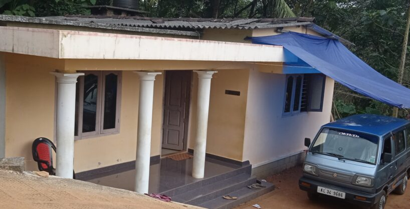 3 Bedroom Family Home for Sale in Pampady Kottayam( Pampay_chennampally)