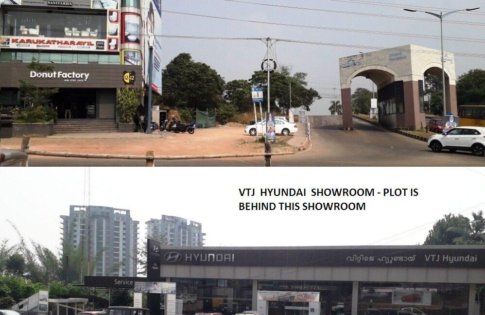Photo No. 1 - INFOPARK WEST GATE & Hyundai Showroom
