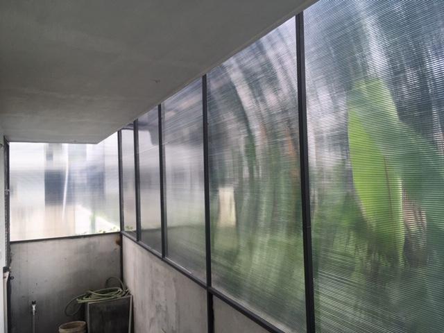 Enclosed Work Area