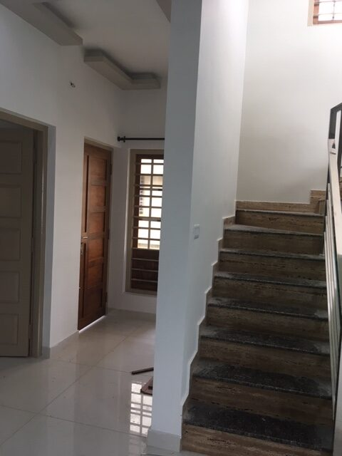 Upper level Bedroom and stairs to terrace